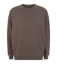 Allsaints Vander Crew Sweatshirt Male Brown