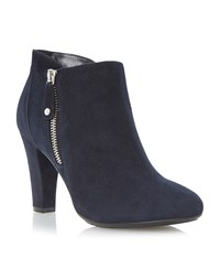 Episode Nables Outside Zip Slim Platforms Navy