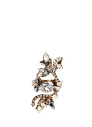 Erickson Beamon 'Swan Lake' Swarovski Crystal Statement Ring White Metallic