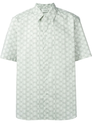 Christophe Lemaire Printed Short Sleeve Shirt