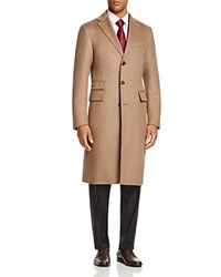 Canali Camel Double Faced Cashmere Coat