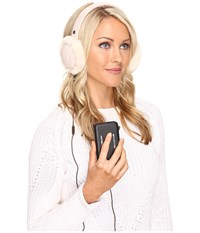 Ugg Wired Cable Earmuff Freshwater Pearl Multi Traditional Hats White