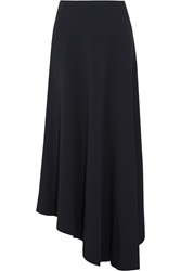 Marni Asymmetric Stretch Cady Maxi Skirt
