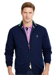 Ralph Lauren Polo Golf By Windblock Lining Full Zip Jumper French Navy