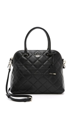 Kate Spade Emerson Place Quilted Margot Cross Body Bag Black