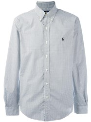 Ralph Lauren Checked Shirt White