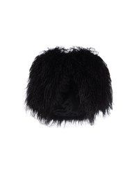 Temperley London Coats And Jackets Faux Furs Women Black