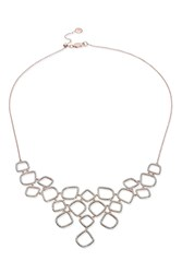 Monica Vinader Riva Diamond Cluster Necklace R Gold
