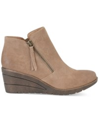 Sofft Salem Wedge Booties Women's Shoes Barley