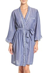 Eileen West Women's Swiss Dot Cotton Robe