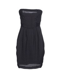Fracomina Dresses Short Dresses Women Dark Blue