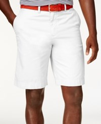 Tommy Hilfiger Core Classic Fit Chino Shorts White