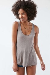 Project Social T Annie Scoop Tank Top Taupe
