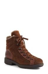 Aquatalia By Marvin K Women's Lettie Weatherproof Lace Up Boot