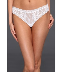 Dkny Intimates Signature Lace Thong 576000 White Women's Underwear