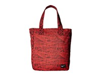 Nike Young Athletes Rowena Tote University Red Black White Tote Handbags
