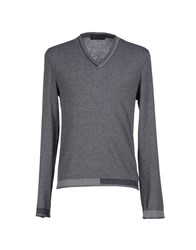 Fabrizio Del Carlo Knitwear Jumpers Men Grey