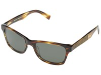 Shwood Canby Fifty Fifty Polarized Tortoise Shell Maple Burl Grey Polarized Sport Sunglasses Brown