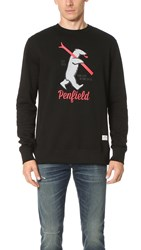 Penfield Ski Bear Sweatshirt Black