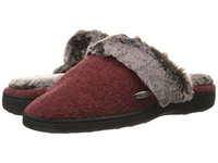 Acorn Chinchilla Scuff Crackleberry Women's Slippers Burgundy