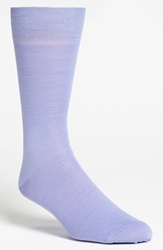 Lorenzo Uomo Merino Wool Blend Socks Men 3 For 30 Lavender