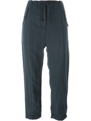 Christian Wijnants Flap Pocket 'Penko' Trousers Blue
