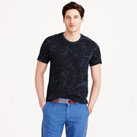 J.Crew Pocket Tee In Camo Floral
