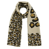 Marc By Marc Jacobs Women's Painted Scarf Leopard