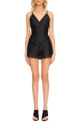 Finders Keepers The Label Women's 'About You' Double V Neck Romper
