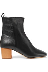 Isabel Marant Etoile Drew Textured Leather Ankle Boots
