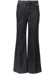 Marc Jacobs Flared Jeans Black