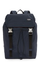 Jack Spade Tech Nylon Army Backpack Navy