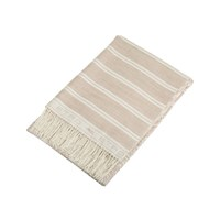 Etro Ogilvie Fringed Throw 800 Beige
