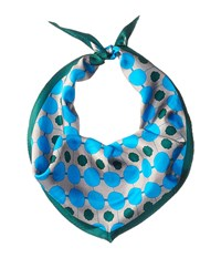 Echo Dotted Diamond Scarf Steel Scarves Silver
