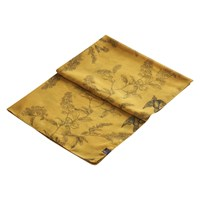 Joules Wensley Floral Print Scarf Gold
