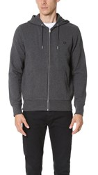 Fred Perry Hooded Sweatshirt Graphite Marl