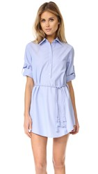 Thayer Shirtdress Pinstripe