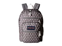 Jansport Big Student Shady Grey White Dots Backpack Bags Gray