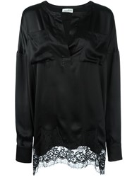 Faith Connexion Oversized Shirt Black