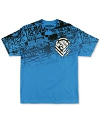 Metal Mulisha Men's Graphic Print T Shirt Turquoise