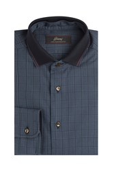 Brioni Printed Cotton Shirt