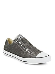 Converse Low Top Slip On Sneakers Black White