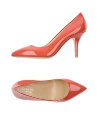 Grey Mer Footwear Courts Women Coral