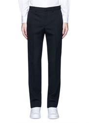 Givenchy Slim Fit Wool Pants Black
