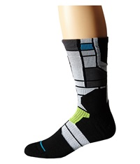 Stance Chartres Lime Men's Crew Cut Socks Shoes Green