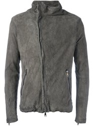 Giorgio Brato Side Zip Jacket Grey