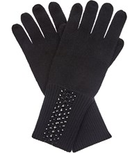 William Sharp Swarovski Crystal Cashmere Gloves 280Hem
