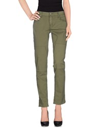 Textile Elizabeth And James Trousers Casual Trousers Women Military Green