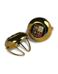 Forzieri Gold Plated Maritime Republics Button Covers