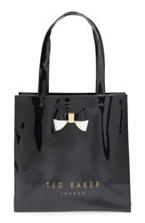 Ted Baker London 'Small Icon Bow' Tote Black